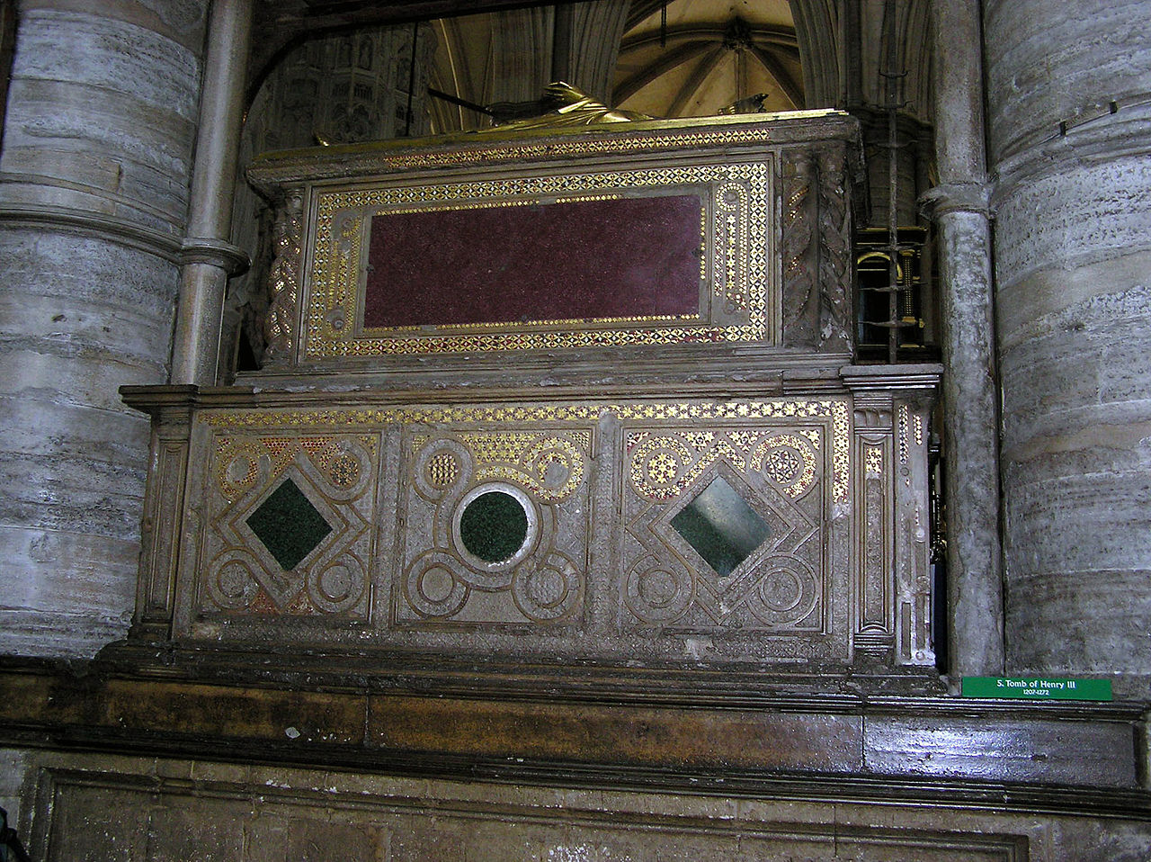 Photograph of Henry's tomb