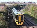 Weston-super-Mare - GWR 158951 leaving for Cardiff Central.JPG