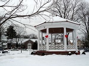Westwood, New Jersey - Westwood Gazebo in 2014