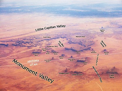 Map Of Arizona Monument Valley.Monument Valley Travel Guide At Wikivoyage
