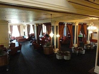 Chateau Tongariro - Hotel Chateau Tongariro, Lobby