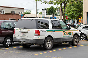 Whatcom County, Washington - Sheriff's Department vehicle in Bellingham