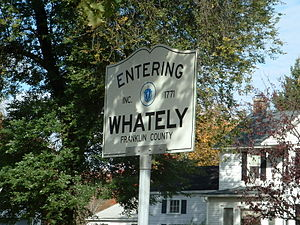 Whately, Massachusetts - Entering Whately – Franklin County