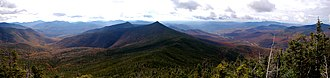 White Mountain National Forest - Image: White Mountains panorama