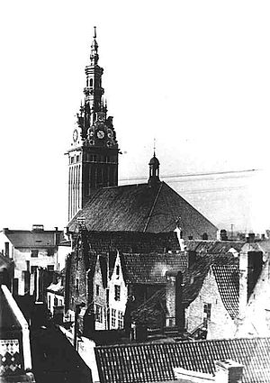 Elbląg - St. Nicholas Cathedral before 1945