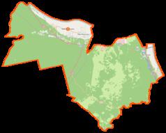 Mapa lokalizacyjna gminy Wielka Nieszawka