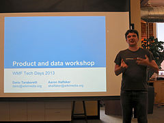 Wikimedia Foundation 2013 Tech Day 1 - Photo 22.jpg