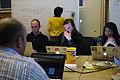 Wikimedia Foundation SOPA War Room Meeting 1-17-2012-1-5.jpg