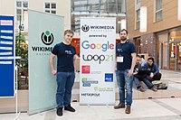 Wikimedia Hackathon Vienna 2017-05-20 fh st pölten 03.jpg