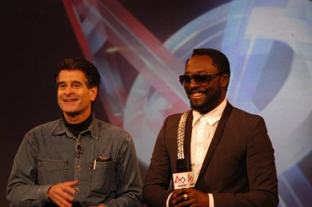will.i.am speaking at the 2011 FIRST kickoff at Southern New Hampshire University with Dean Kamen Will I Am FIRST.TIF