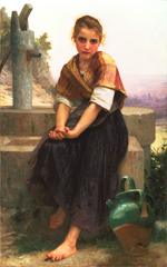 William-Adolphe Bouguereau (1825-1905) - The Broken Pitcher (1891).png