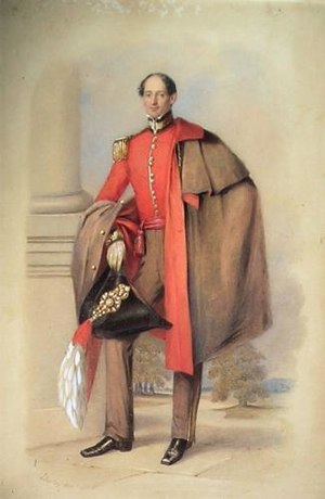 Lord William Gordon - William Conway Gordon (1798–1882) while he was A.D.C. to Sir Peregrine Maitland in Madras