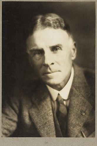William Herbert Ifould - Portrait of William Ifould in 1927