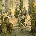 William Henry Jackson-People on sidewalk.jpg