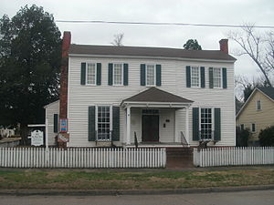 National Register of Historic Places listings in Martin County, North Carolina - Image: Williamston, NC Asa Biggs House