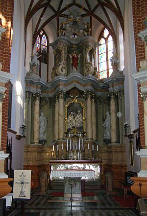 Church of St. Anne, Vilnius - Main altar