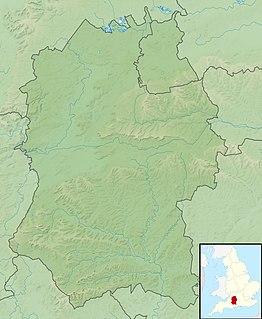 Vespasians Camp hillfort in Wiltshire, UK