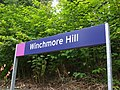 Winchmore Hill stn signage.JPG