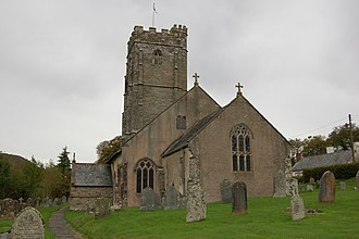 Winsford, Somerset - Image: Winsfordchurch