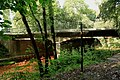 Witten - Ruhrdeich - Brücke+Grubenwasser Franziska Erbstollen 02 ies.jpg