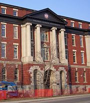 Home of Faculty of Social Work, downtown Kitchener. Formerly St. Jerome's College.