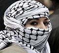 Woman wearing Keffiyeh.jpg