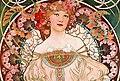 Women with flowers detail, Alfons Mucha - F. Champenois Imprimeur-Éditeur (cropped).jpg