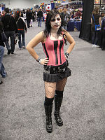 File:WonderCon 2012 - Zombie girl (6873026730).jpg
