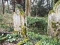 Woodland gravestones in St Marys Churchyard - geograph.org.uk - 355036.jpg