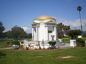 Woodlawn Memorial Cemetery, Santa Monica - Woodlawn Cemetery, Elks Pavilion