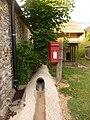 Woodyates, postbox No. SP5 264, West Woodyates - geograph.org.uk - 1369223.jpg