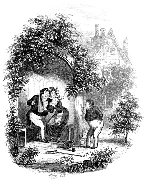 Works of Charles Dickens (1897) Vol 1 - Illustration 8