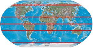 نام بزرگترین مدار استوا | بزرگترین مدار استوا چه نام دارد
