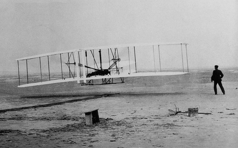 Wright brothers the fist plane humiliate