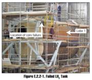 X-33 Liquid Hydrogen Multi-Lobed Tank Failure