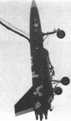 NSRDC BQM-108 - Image: XBQM 108A testing