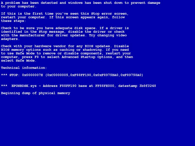 File Xscreensaver Simulating Windows Xp Bsod Png