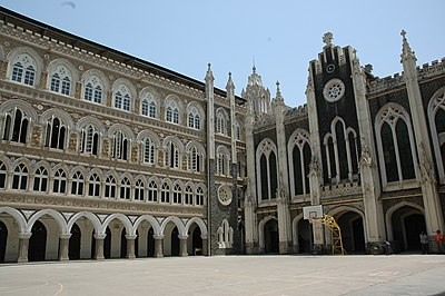 The Catholic St. Xavier's College in Mumbai, is one of the most prestigious liberal arts colleges in India Xaviers college.jpg