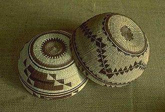 Yurok - Yurok women's basketry hats, Redwood National Park