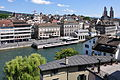 Zürich - Lindenhof - Limmat - rechtsseitige Altstadt.jpg