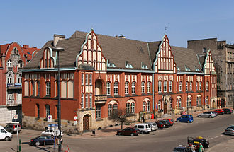 Zabrze - Main Post Office