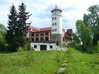 Zaklików town in Poland