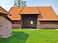 Zalipie museum - barn of the Felicja Curyłowa's farm.JPG