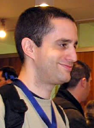 PHP - Rasmus Lerdorf (left), who wrote the original Common Gateway Interface (CGI) component, together with Andi Gutmans (middle) and Zeev Suraski (right), who rewrote the parser that formed PHP 3.