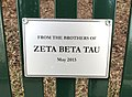 Zeta Beta Tau Bench, American University.jpg