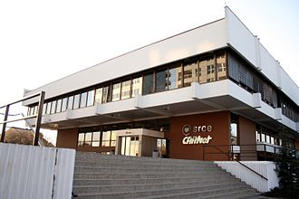 University Computing Centre - The University Computing Centre building at 5 Marohnić Street in Zagreb, home to Srce and CARNet