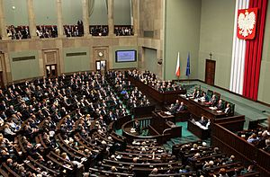 Politics of Poland - Sejm Plenary Hall