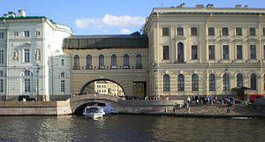 Hermitage Bridge - Bridge view from Neva river