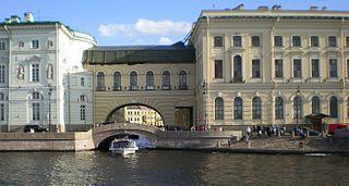 Hermitage Bridge bridge in Russia