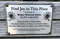 """Find Joy in This Place"" Bench, American University.jpg"